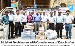 Mobilink Helps Karachi Battle the Heat