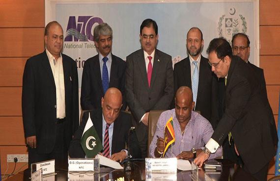 Sanath Jayasuria MD GEOTEL Lanka signs International Telecom Service Agreement with National Telecommunication Corporation