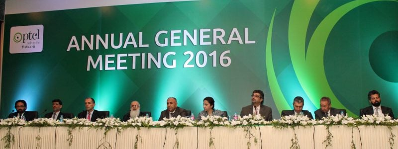 PTCL holds Annual General Meeting
