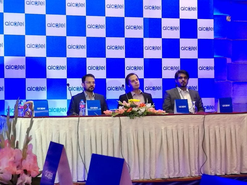 Alcatel Launched Feature and Smartphones in Pakistan