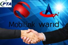 Pakistan Telecommunication Authority approves Mobilink's merger with Warid